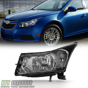 2012 2015 Chevy Cruze 2016 Cruze Limited Headlight Headlamp Lh Left Driver Side