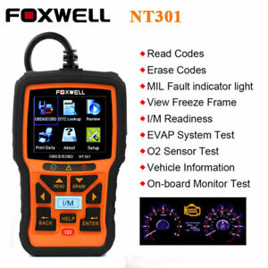 Universal Obd2 Scanner Car Code Reader Engine Fault Check Auto Diagnostic Tool