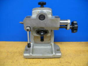 Adjustable Tail Stock 5 7 Tilting Rotary Table Dividing Head Foot Stock