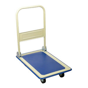 19 X 29 X 33 Functional Moving Platform Hand Truck Foldable For Easy Storage