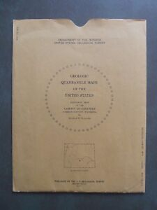 Map Gq 912 Geologic Map Of The Lamont Quadrangle Carbon County Wyoming 1971
