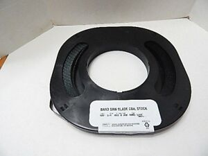 Band Saw Blade Coil 100 Ft 3 4 Wide 032 Thk 8 Raker Hard Edge Made In Usa