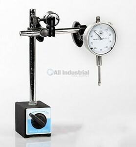 Dial Indicator Set With Holder Magnetic Base 0 1 001 New Free Shipping