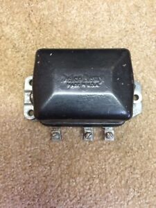1962 62 Corvette Delco Remy Voltage Regulator 1119002e Dated 2e