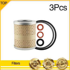Engine Oil Filter 3x hastings Filters Fits 1956 Plymouth Belvedere V8 4 4l
