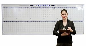 Annual Wall Calendar Large Dry Erase Event Calendar Rollable Whiteboard