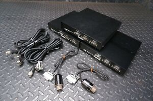 Lot Of 3 Koyo 8020 c Camera Control Unit With 8020 h Ccd