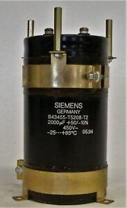 Siemens Germany B43455 t5208 t2 Gildemeister Parts Spares