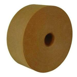 Crowell Superseal Reinforced Gum Tape 3 X 450 Ft Kraft Paper Economy 70 Rolls