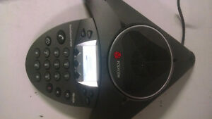 Polycom Hd Voice Soundstation Ip 6000 Conference Phone 2201 15600 001 W power