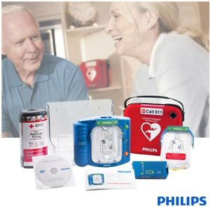 Philips Heartstart Home Defibrillator Safe Easy To Use With Installed Pads