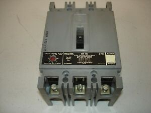 used Westinghouse Mark 75 Circuit 30 Amp 600 Vac Breaker Hfb3270ml used
