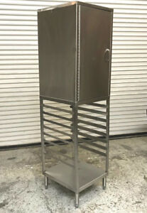Full Size 17 Sheet Pan Rack Top 9 Enclosed Stainless Steel 7443 Commercial Bake