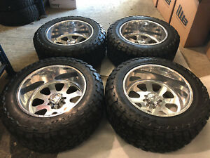 American Force Wheels And Tires For Ford Excursion W Toyo Open Country