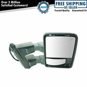Towing Mirror Power Folding Telescoping Heated Memory Signal Rh For Ford