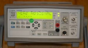 Agilent 53147a Microwave Frequency Counter power Meter dvm 20ghz Good Opt 1 2