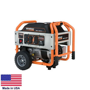 Portable Generator 4 500 Watt 4 5 Kw 120 240v 7 Hp Ca Compliant Carb