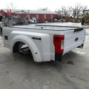 2017 2019 Ford F350 White New Take Off Dually Bed W Gate Lights 2018 Superduty