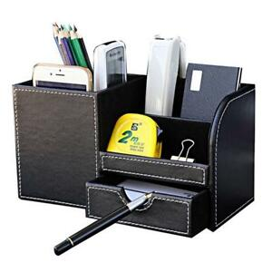 Pen Holder Multi Function Desk Stationery Stand Office Organizer Accessories