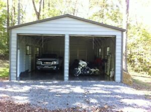 Free Install And Delivery Barns steel Building carports garages rv Storage Sheds