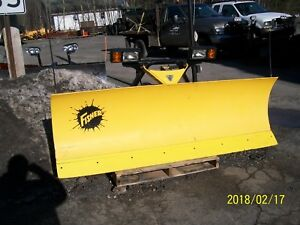 Fisher Minute Mount 2 7ft 6in Snowplow Used Twice