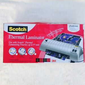 Scotch Thermal Laminator tl901 2 Roller System