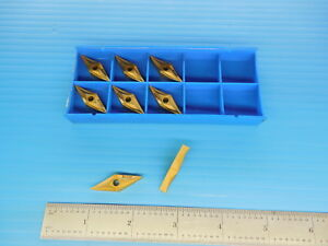 8pcs Valenite Vnmp 331e Sv325 Spectrasystem Carbide Inserts Machine Shop Tools