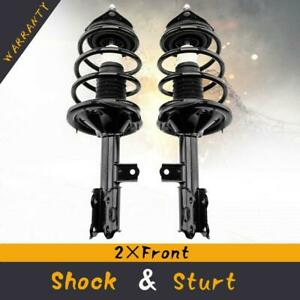 2pcs For Hyundai Elantra 2007 2010 Front Quick struts Complete Shocks Springs