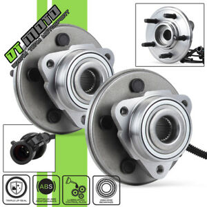 Pair 2 515050 Front Abs Wheel Hub Bearing Ford Explorer Lincoln Mountaineer