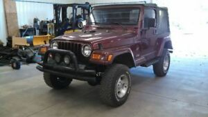 Jeep Tj Wrangler Heater Box With Blower And Core Assembly With Ac 2002 1817