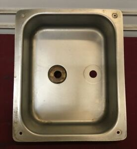 10 X 8 1 2 Drop In Sink Drain Well Gsw 6594 Commercial Restaurant Well
