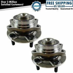 Front Wheel Hubs Bearings Left Right Pair For Nissan 350z Infiniti G35