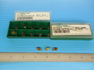 13 Pcs Tool Flo Tf17878j5 Fltp 2r Mod 026r Gp3 Inserts Machine Shop Tooling