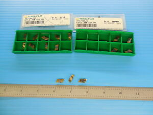 16 Pcs Tool Flo Tf17684j5 Fltp 2l 75mm Pitch Gp3 Inserts Machine Shop Tooling