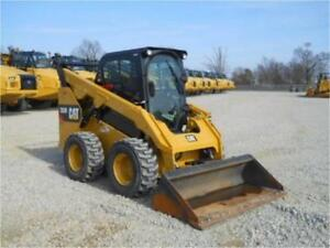 2016 Caterpillar 262d Skid Steer Wheel Loader Cab Heat Air Cat 262c 100 Hours
