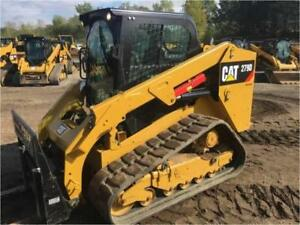 2014 Caterpillar 279d Track Skid Steer Loader Cab Heat Air Cat 279