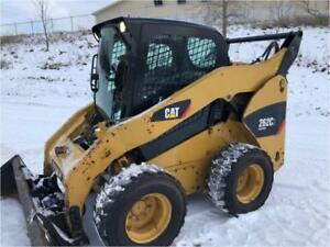 2012 Caterpillar 262c2 Skid Steer Wheel Loader Tire Machine Cat 262c2