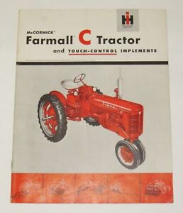 Farmall C Touch control Implements Sales Brochure