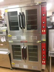 Vulcan Sg22 Double Stack Convection Oven Nat Gas