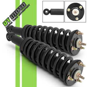 Pair 2 Front Complete Struts Coil Springs For 2000 2006 Toyota Tundra 171347l R