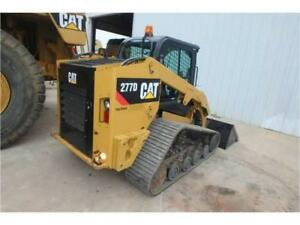 2014 Caterpillar 277d Skid Steer Loader Cat 277d