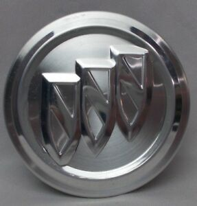 Buick Enclave Lacrosse Regal Brushed Aluminum Center Cap Oe 2 5 8