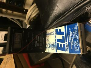 F w Bell Model 4060 Elf Gauss Meter Excellent Condition 1 Mg To 1kg