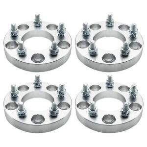 4pcs 1 25mm 5x5 To 5x4 75 78 3mm Wheel Adapters For Chevy Impala 12x1 5