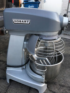 Wow Hobart Hl200 20 Qt Stand Dough Mixer W bowl Paddle Cage Guard 3 Years Old