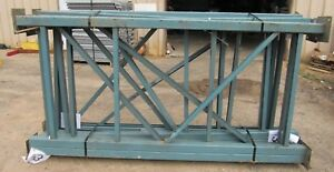 Unarco Industrial Pallet Racking Upright 8 X 48 Green qty 1