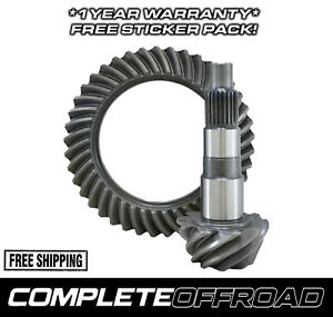 G D44 411t High Performance Ring And Pinion Replacement Gear Set For Dana 44
