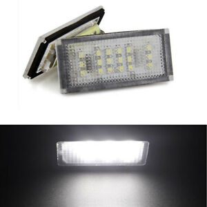 2x 18smd License Plate Led Light Lamp For Bmw 3 Series E46 4d 325i 330i 98 2003