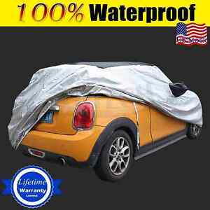 For Mini Cooper F56 Car Cover Fit Short Antenna Waterproof Rain Snowdust