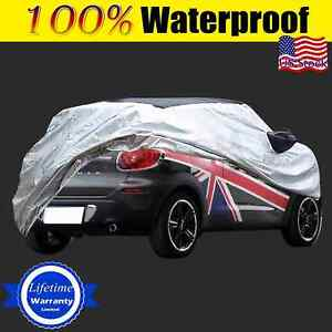 For Mini Cooper R60 Car Cover Fit Short Antenna Outdoor Waterproof Rain Snowdust